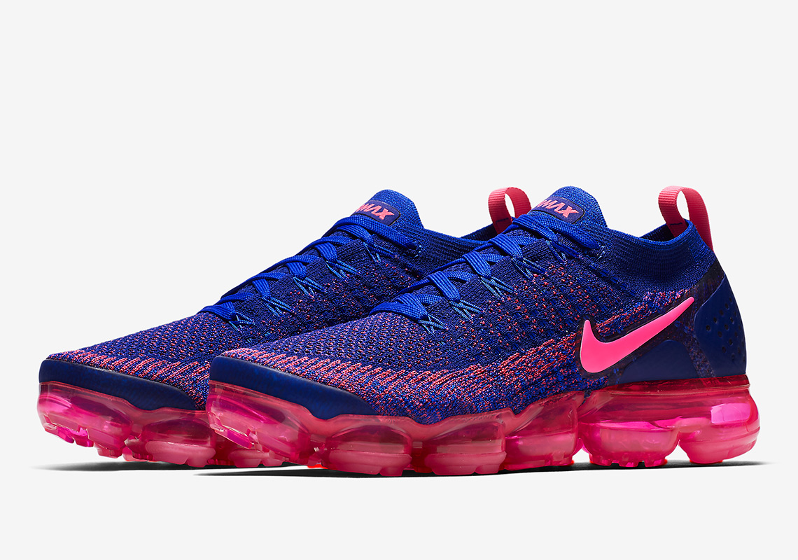 "0f968ad8ae916f Nike Vapormax Flyknit 2 ""Racer Blue"" Drops On Black Friday"