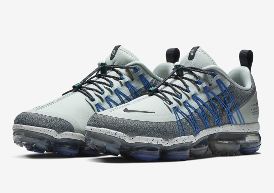 """The Nike Vapormax Run Utility Is Coming Soon In """"Light Silver"""""""