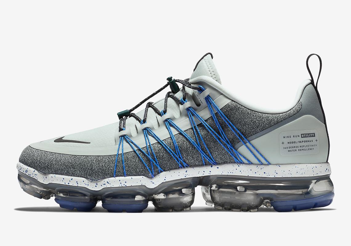 b7f8633293c Nike Vapormax Run Utility Light Silver AQ8810-006 Release Info ...