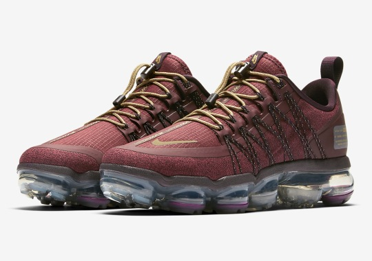 The Nike Vapormax Run Utility Appears In Washington Redskins Colors