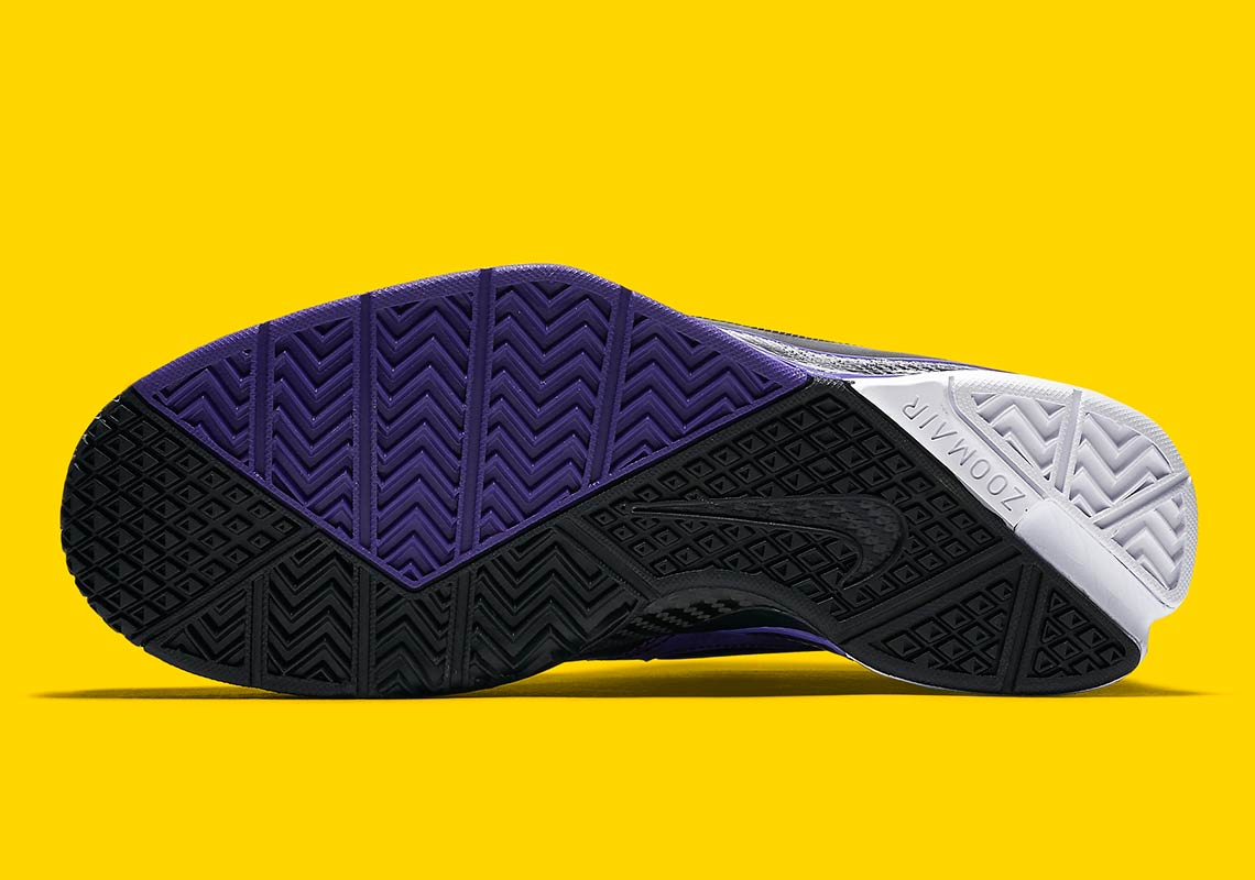 69266a76d5a Nike Zoom Kobe 1 Protro Black Purple AQ2728-004