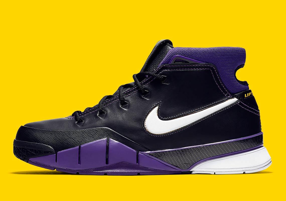 176db8f5d9a0 Nike Zoom Kobe 1 Protro Black Purple AQ2728-004