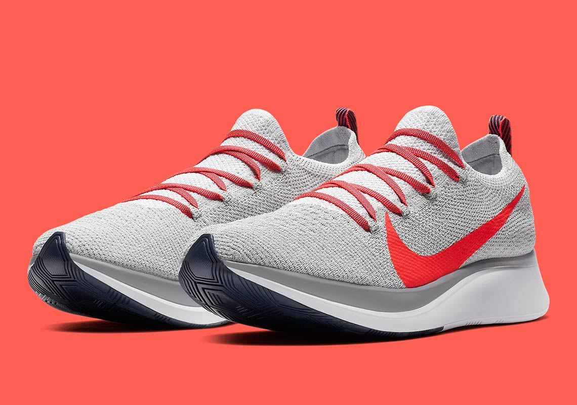 2b4d8de097294 Nike Zoom Vaporfly Flyknit AR4561-044 Available Now