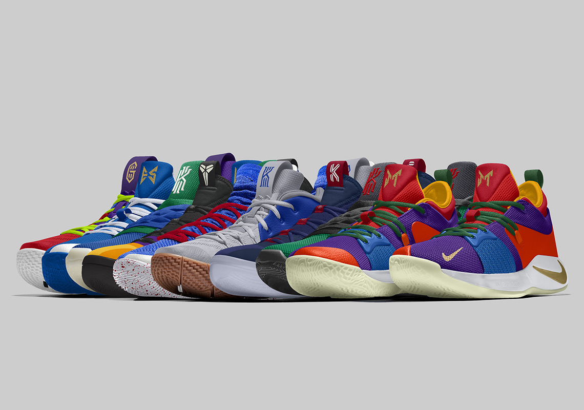 sports shoes 09b24 eeccd NBA Players Will Wear Their Own NIKEiD Designs To Debut New Season