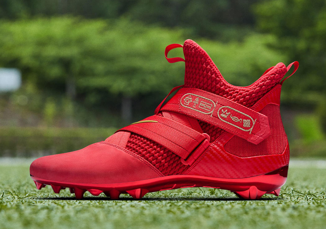 b135bded50385 OBJ Will Be Wearing LeBron-Inspired Cleats For Monday Night Football