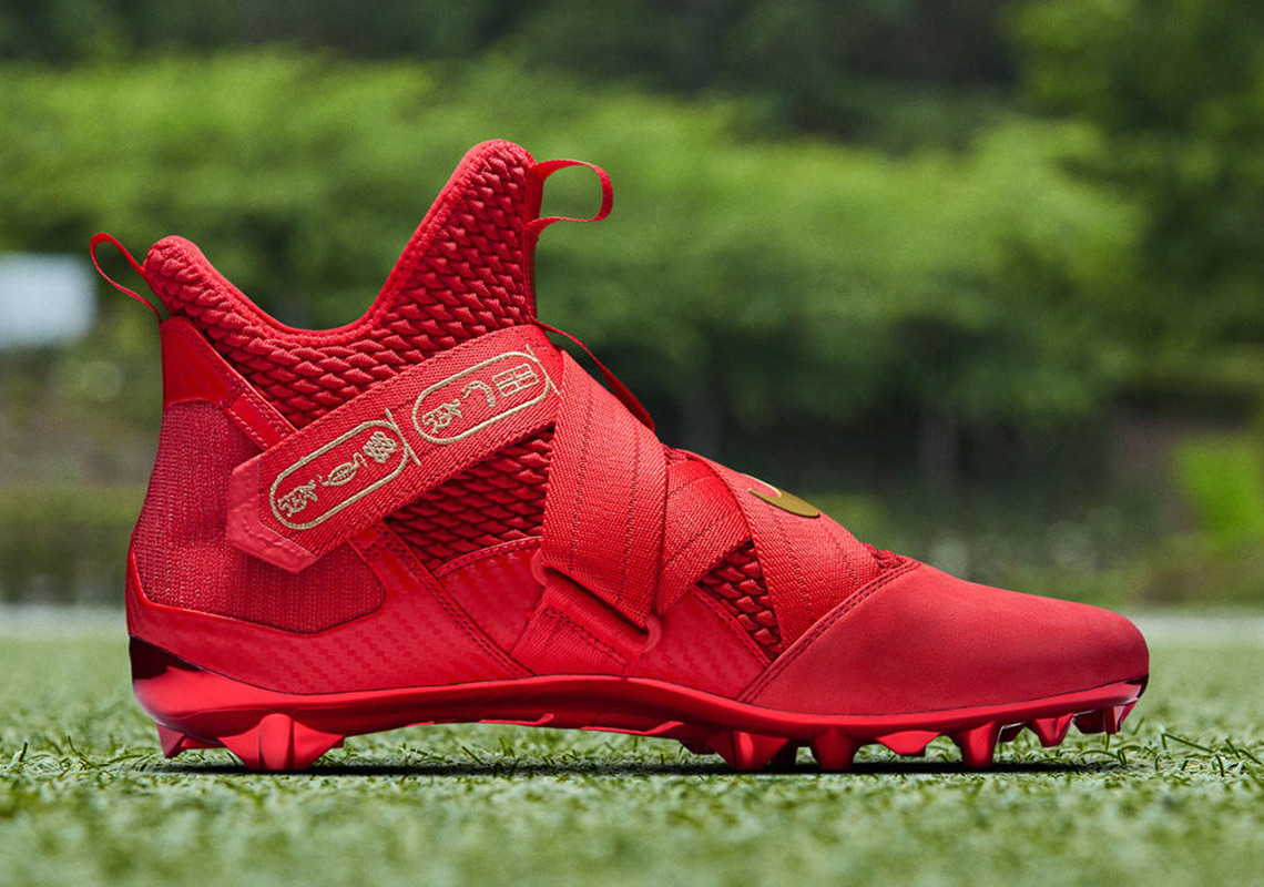 lebron soldier 12 cleats for sale