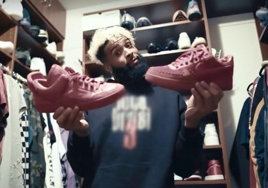 Inside Odell Beckham Jr.'s Insane Sneaker Closet