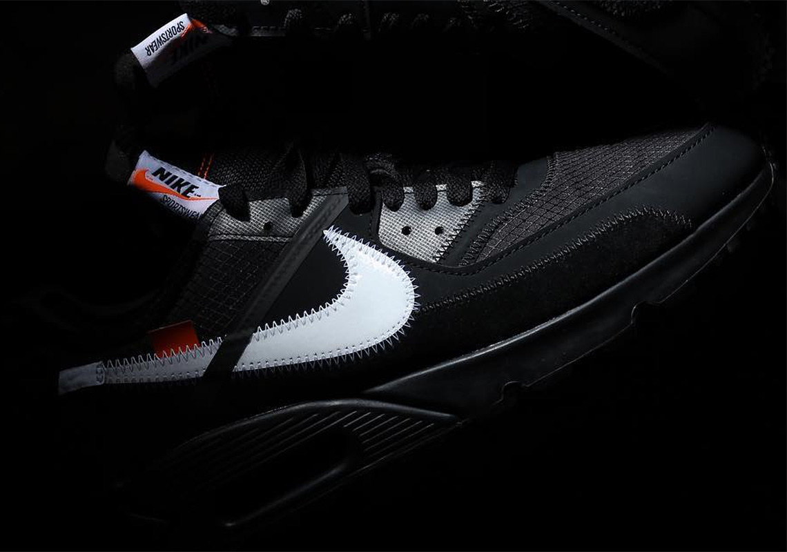 Off-White Nike Air Max 90 Black Official Release Date   SneakerNews.com 4db4291d8c87