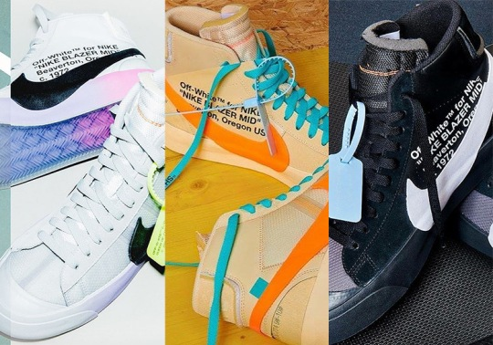 Off-White x Nike Blazer Releasing Soon In All Three Colorways