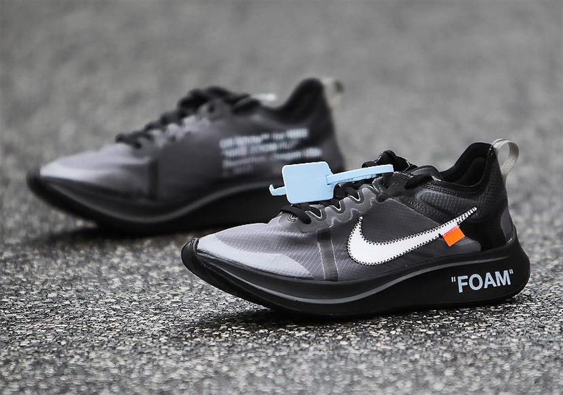 2ebcbef12410 Off-White Nike Zoom Fly SP Black + Pink Release Info