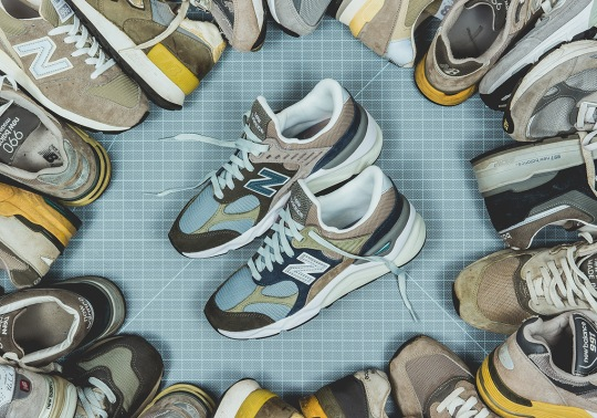 "Packer References The Entire New Balance 99X Series For Their X-90 ""Infinity"""
