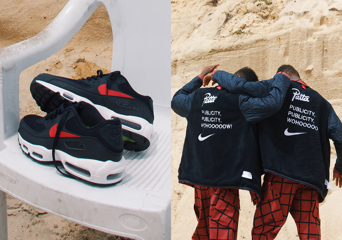 "best website 4262c 21c3d Patta And Nike Collaborate On A New Air Max Hybrid For ""Publicity""  Collection"