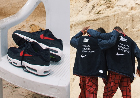 "Patta And Nike Collaborate On A New Air Max Hybrid For ""Publicity"" Collection"
