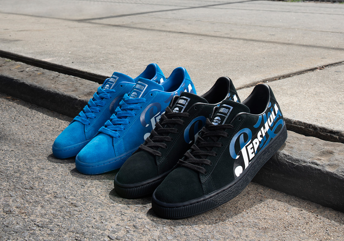 02a32c25e8b Pepsi Teams With Puma For Two Iconic Renditions Of Suede