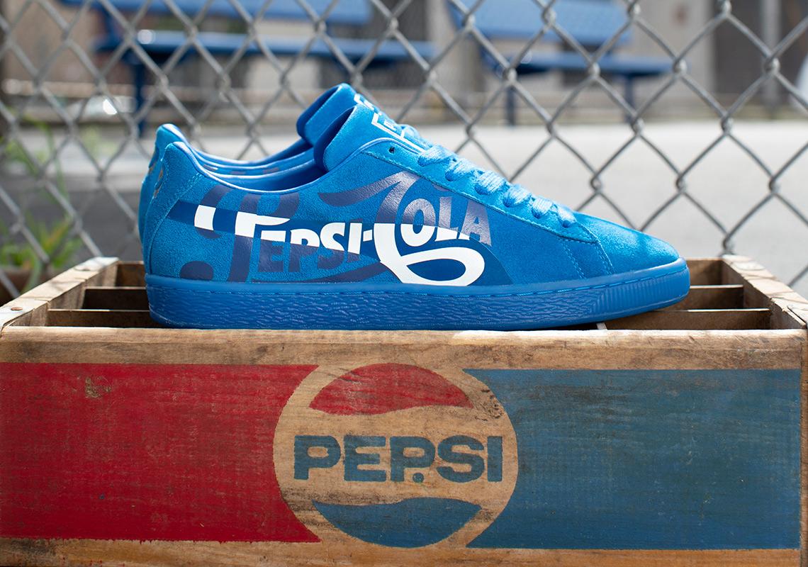 609712923190e9 Pepsi Puma Suede 50 Photos Release Info
