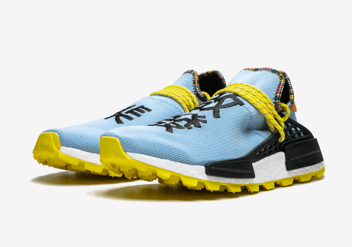 best sneakers 30e67 9e6ab Pharrell adidas NMD Hu Inspiration Pack Photos + Release ...