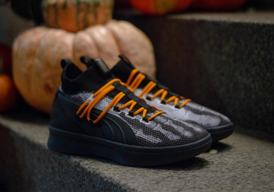 """Puma Is Releasing An """"X-Ray"""" Edition Of The Clyde Court Disrupt For Halloween"""