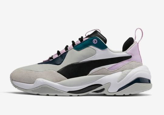 The Puma Thunder Plays On Pastels in Two New Colorways