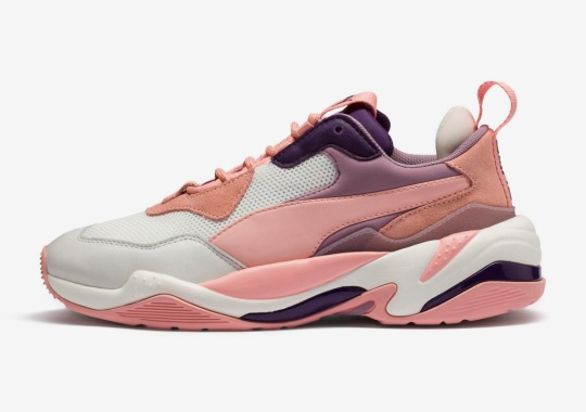 The Puma Thunder Spectra To Feature Pink And Purple Tones In Upcoming Release