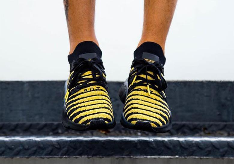 adidas Dragon Ball Z Shenron Black Gold Shoes  