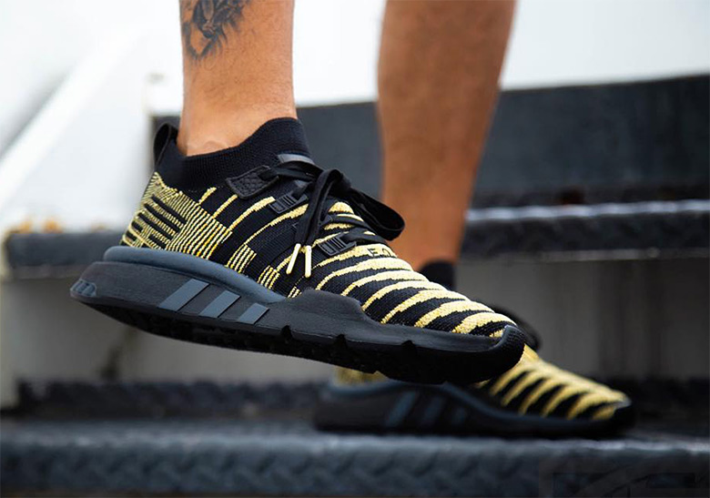 """f418f544005 The adidas Dragon Ball Z """"Super Shenron"""" Will Release In Black And Gold"""