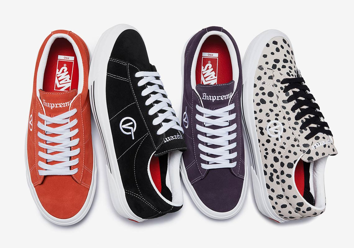 f261f9969cbc Supreme And Vans Bring Back The Sid Pro For New Collaboration