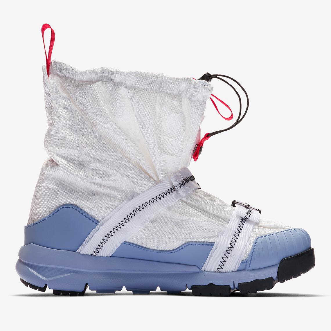 1bbb0f730b4 Tom Sachs x Nike Mars Yard Overshoe Release Date  January 2019  550. Color   White Cobalt Bliss-Sport Red-Black