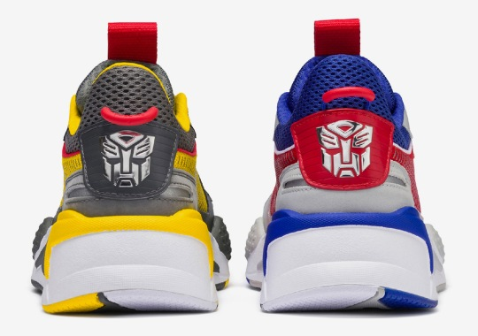Transformers And Puma Reveal Full Collaboration With New RS-X Model