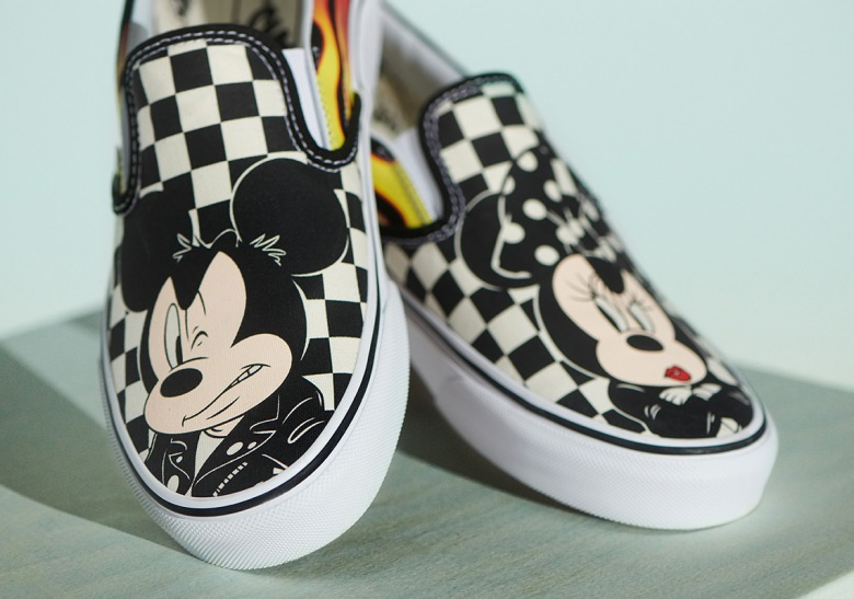 Image result for vans x mickey mouse