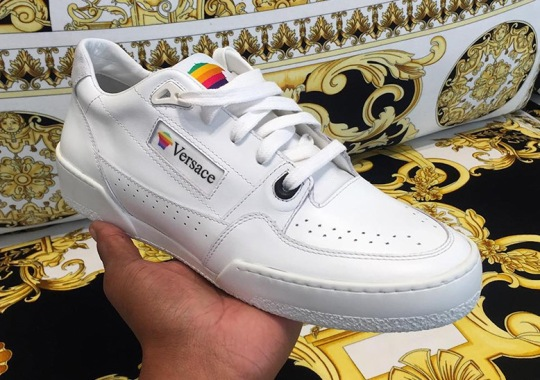 Is Versace Releasing Their Take On The Legendary Apple Computers Sneaker?