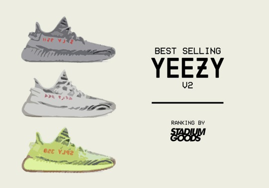 On Third Anniversary, Stadium Goods Reveals Their Best Selling Yeezy Boost 350 v2