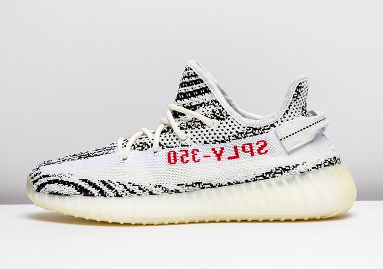 0399ea7a80852 Adidas Yeezy Boost 350 v2 Sesame + Zebra 2018 Release Info 2018 ...