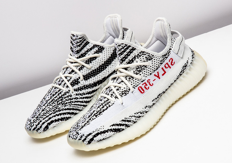 """hot sale online a2278 9a34e adidas Yeezy Boost 350 v2 """"Zebra"""" Release Date November 9th, 2018 220.  Color WhiteCore BlackRed"""