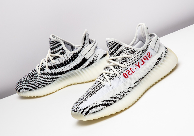 bec79a975 ... reduced adidas yeezy boost 350 v2 zebra release date november 9th 2018  220. color white