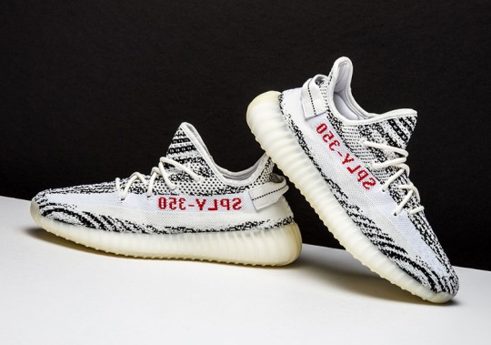 "The adidas Yeezy Boost 350 v2 ""Zebra"" Will Restock On November 9th"