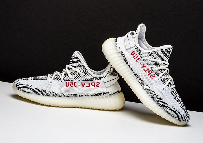 best website 0be33 76532 Adidas Yeezy Boost 350 v2 Sesame + Zebra 2018 Release Info ...