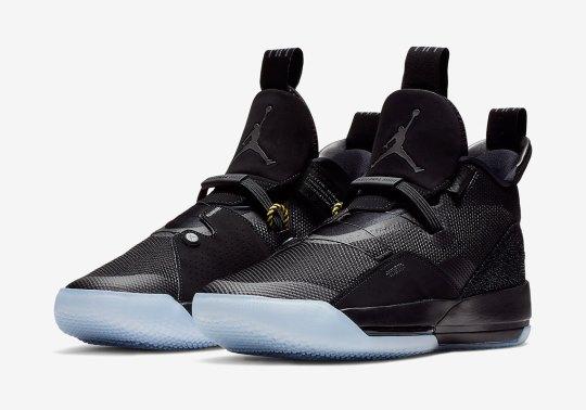 "The Air Jordan 33 ""Blackout"" Releases On November 29th"