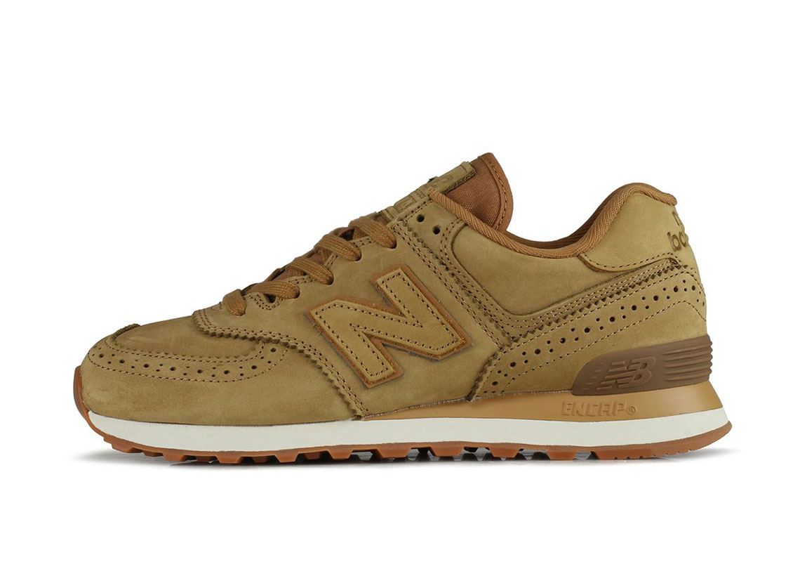 New Balance 574 Shoes Brogue Pack Release Info | SneakerNews.com
