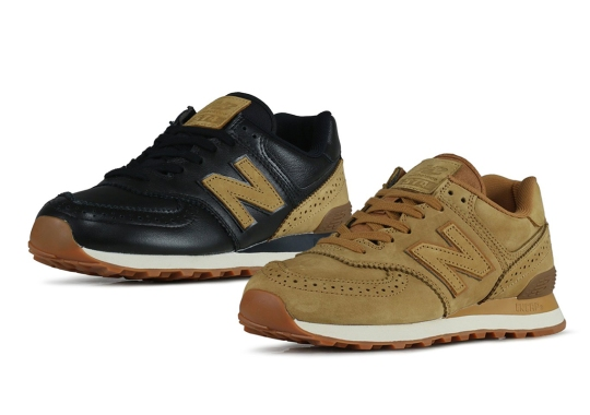 New Balance Equips The 574 With Brogue Detailing