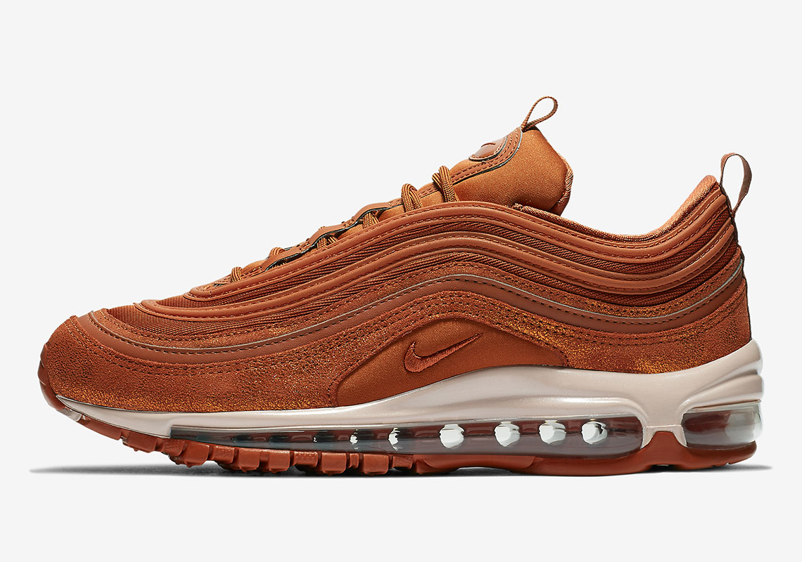 "c43a03f1e774b The Nike Air Max 97 Is Releasing In ""Dark Russet"""