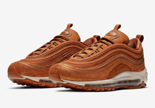 "The Nike Air Max 97 Is Releasing In ""Dark Russet"""