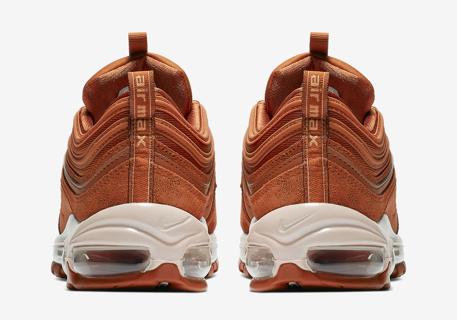 "hot sale online 32d43 d23cc The Nike Air Max 97 Is Releasing In ""Dark Russet"""