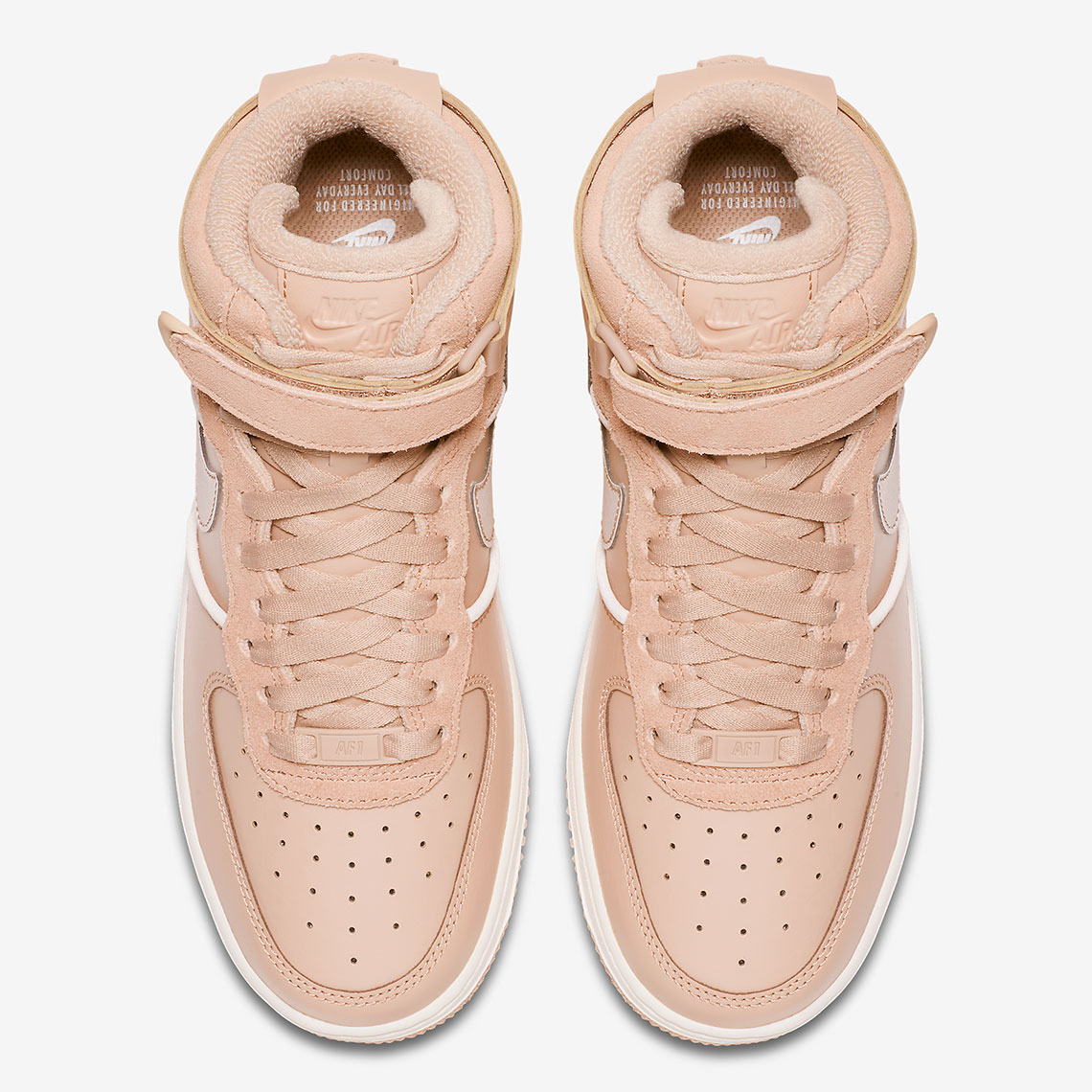 separation shoes 9b9f5 d66be Nike Air Force 1 High Release Date  November 8, 2018  140. Color  Bio Beige Bio  Beige-Sail Style Code  BV0312-200. Advertisement. Advertisement