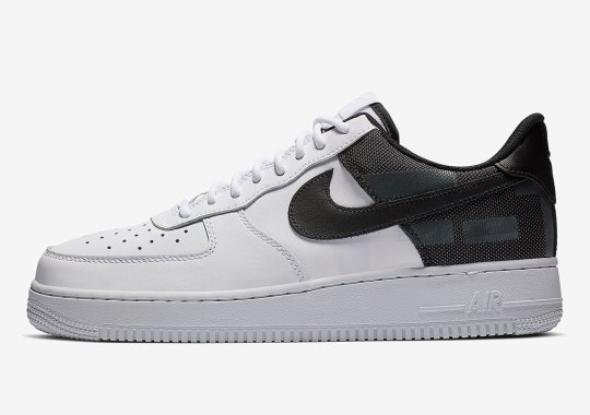 Nike Air Force 1 LV8 Adds Its Own Big Logo On The Heel