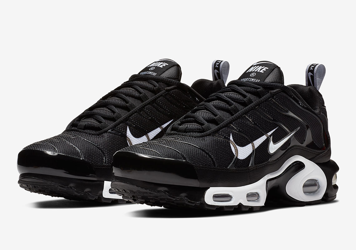 "f8ab430114e181 Nike Adds An Extra Swoosh To The Air Max Plus ""Overbranding"""