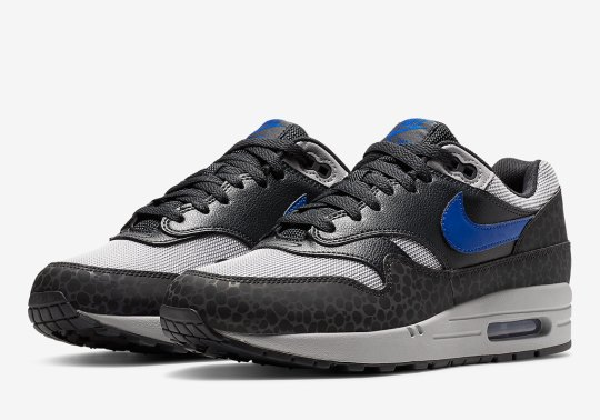 Nike's Enlarged Safari Print Hits The Air Max 1