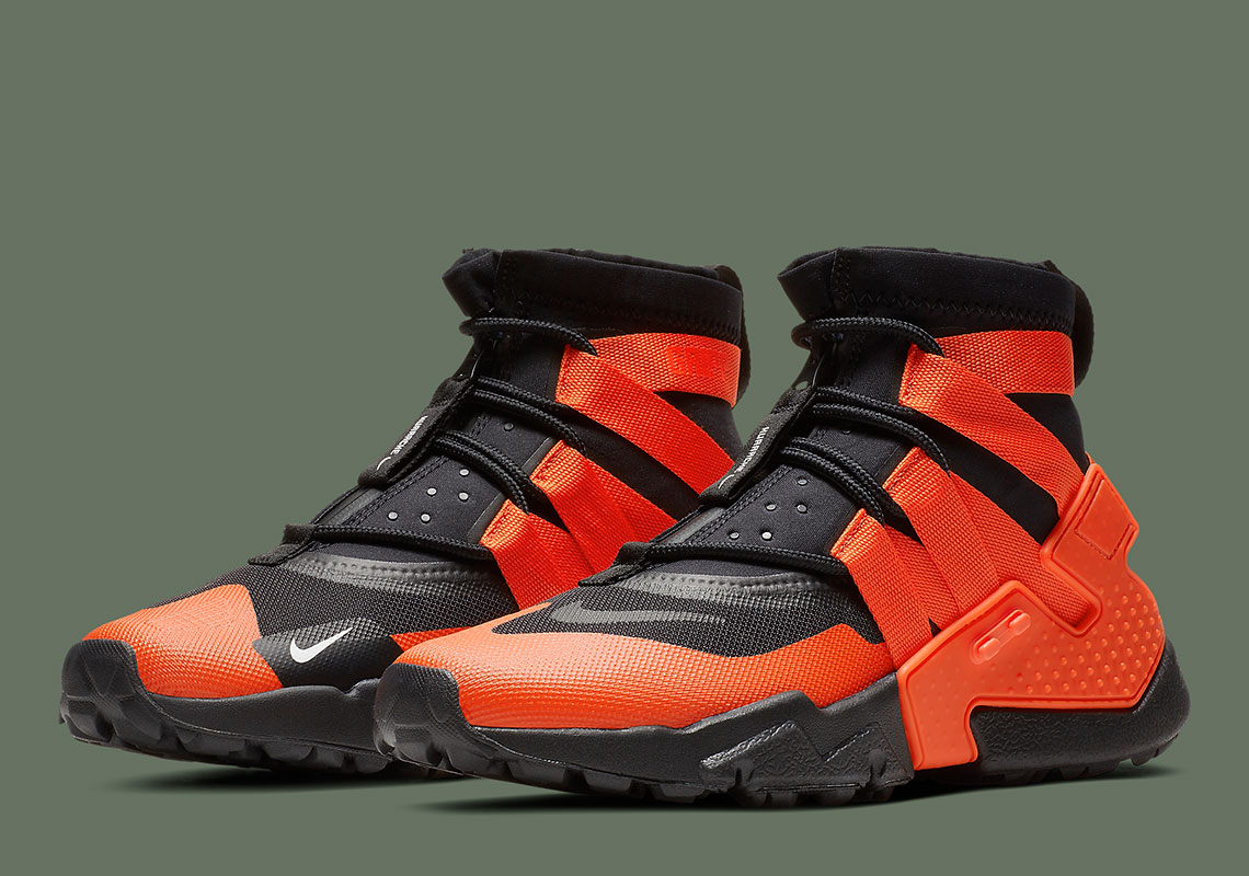 "3752e0f991f357 The Nike Huarache Gripp Is Coming Soon In ""Team Orange"""