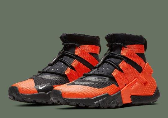 "The Nike Huarache Gripp Is Coming Soon In ""Team Orange"""