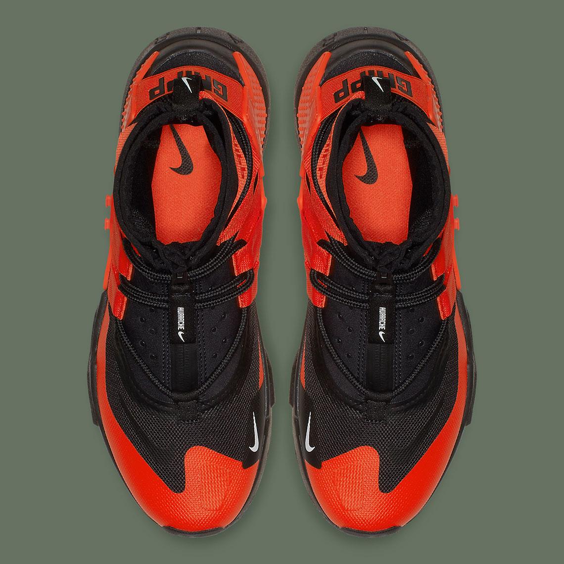 quality design fcad3 47b45 Nike Air Huarache Gripp Release Date  November 8th, 2018  140. Color  Black Team  Orange-White Style Code  AO1730-001. Advertisement. Advertisement
