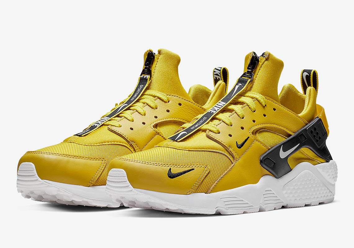 The Nike Huarache Zip Arrives In Bright Citron